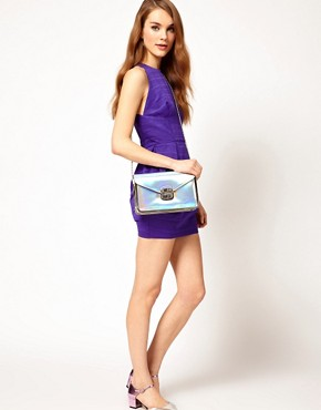 Image 3 ofNew Look Sally Holographic Clutch