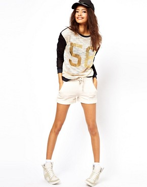 Image 1 of ASOS Lounge Shorts in Soft Loopback Sweat