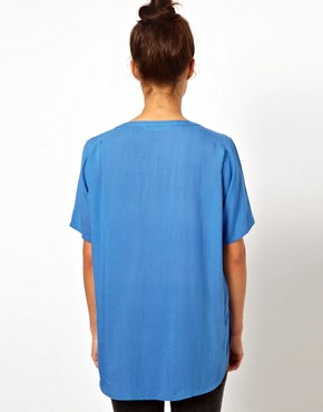 Image 2 ofWH100 by Won Hundred Light Woven Top in Textured Fabric