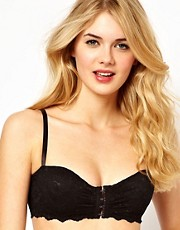 ASOS Boudoir Lace Front Fastening Bra.