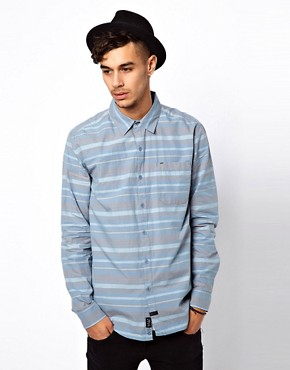 Image 1 of KR3W Stripe Shirt In Slim Fit