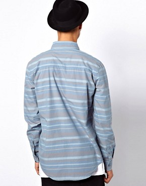 Image 2 of KR3W Stripe Shirt In Slim Fit