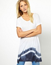 ASOS Oversize T-Shirt with Tie Dye