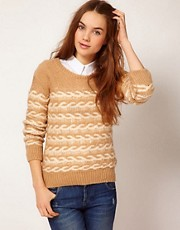 A Wear Ladder Knit Jumper
