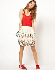 Paul and Joe Sister Embroidered Skirt