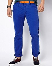 Chinos de corte slim de Esprit