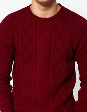Image 3 ofASOS Cable Knit Jumper