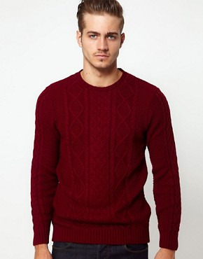 Image 1 ofASOS Cable Knit Jumper