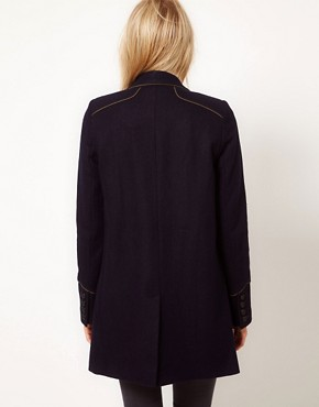 Image 2 ofASOS Military Pea Coat