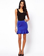 ASOS Mini Skirt with Frill Hem