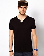 ASOS - T-shirt con intaglio sullo scollo