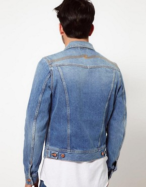 Image 2 ofNudie Denim Jacket Conny Light Wash