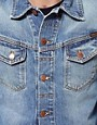 Image 3 ofNudie Denim Jacket Conny Light Wash
