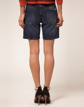 Image 2 ofBA&amp;SH Denim Boyfriend Shorts