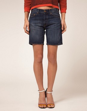 Image 4 ofBA&amp;SH Denim Boyfriend Shorts