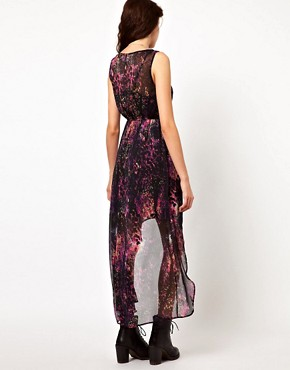 Image 2 ofVero Moda Printed Hi Lo Dress