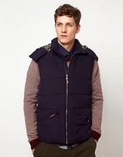 Suit Detachable Hooded Gilet