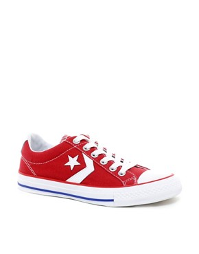 Image 1 ofConverse Star Player EV Plimsolls