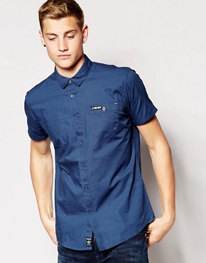 Firetrap Short Sleeve Pocket Shirt