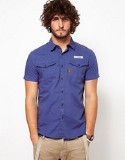 G Star Shirt Base Short Sleeve 2 Pocket