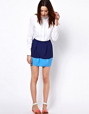 BZR Two Tone Skirt
