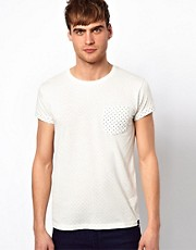 Jack &amp; Jones T-Shirt With Reverse Allover Print