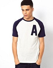 Addict T-Shirt Raglan Capital