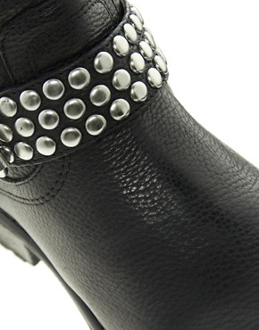 Image 2 ofSteve Madden Fraankie Stud Biker Boots