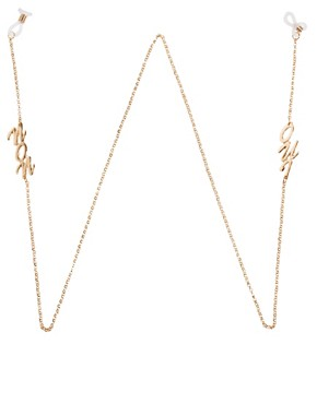 Image 1 of ASOS Oui Non Sunglasses Chain