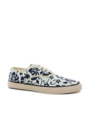 YMC Printed Plimsolls