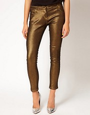 Sass & Bide - Three Words - Jeans metallizzati elasticizzati