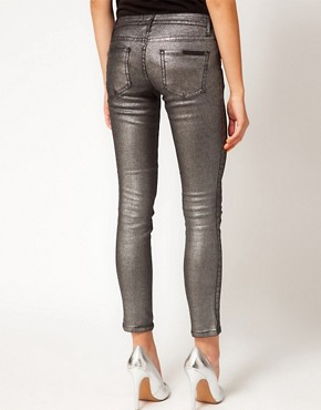 Image 2 ofSass &amp; Bide Three Words Stretchy Metallic Jeans