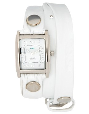 Image 1 of La Mer Patent Leather Strap Watch