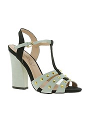 Timeless T-Bar Studded Sandal