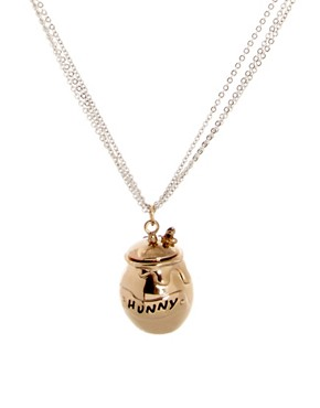 Image 1 ofDisney Couture Winnie The Pooh Hunny Jar Necklace
