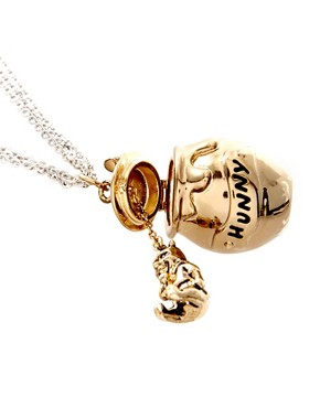 Image 4 ofDisney Couture Winnie The Pooh Hunny Jar Necklace