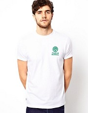 Franklin & Marshall T-Shirt with Chest Seal Logo