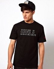 SSUR T-Shirt With Hell Print