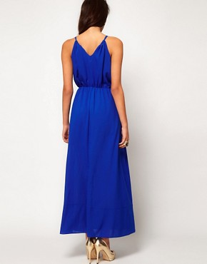 Image 2 ofASOS Maxi Dress With Keyhole Detail