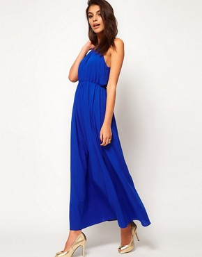 Image 4 ofASOS Maxi Dress With Keyhole Detail
