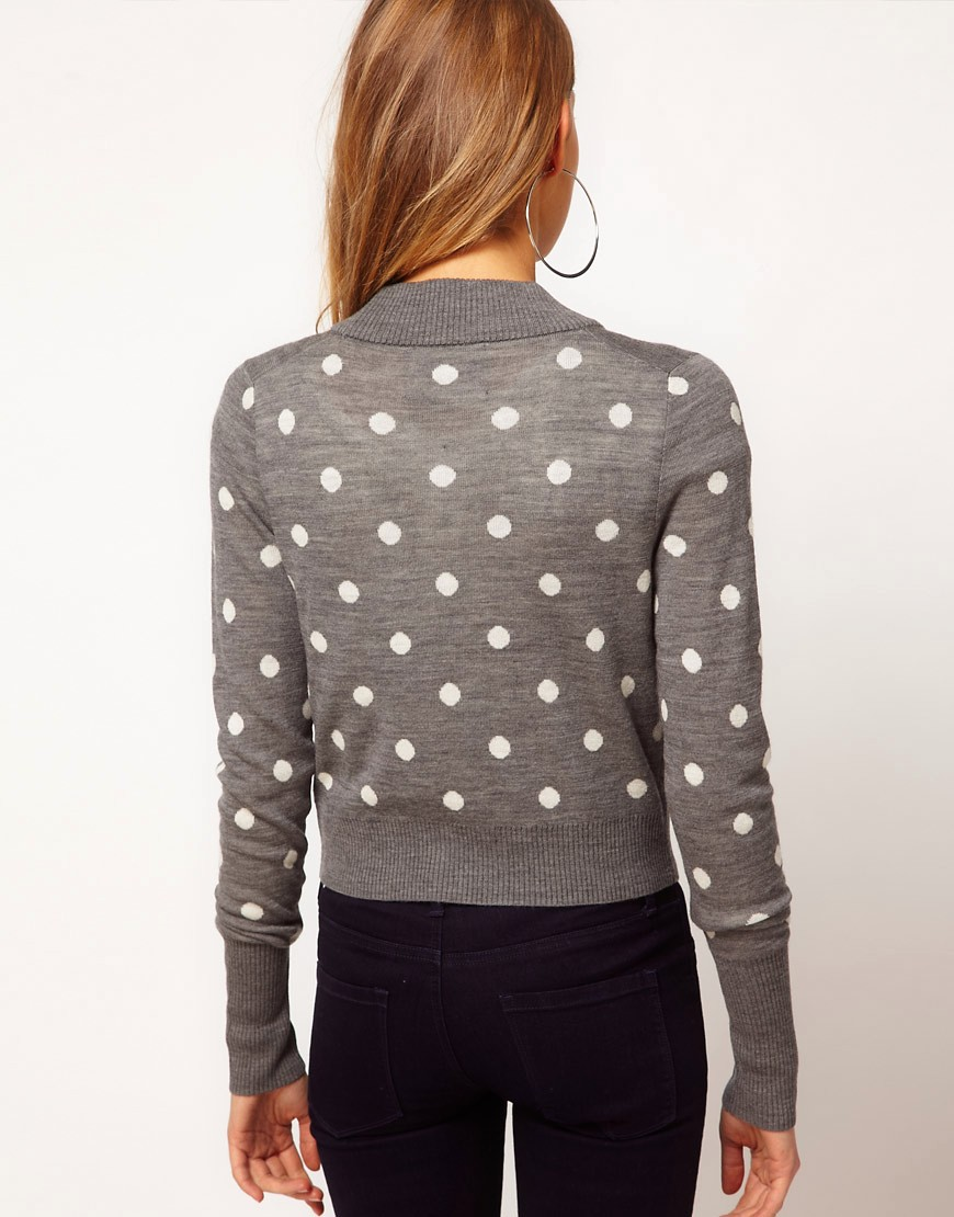 Image 2 ofJuicy Couture Polka Dot Cardigan