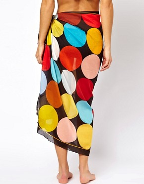 Image 2 ofPaul Smith Large Circle Sarong