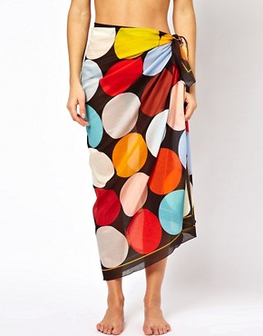 Image 4 ofPaul Smith Large Circle Sarong