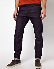 Denim Demon Jeans Aahka Regular Slim Raw