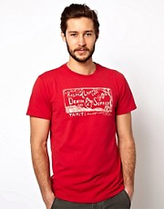 Camiseta con estampado de sirena de Denim & Supply Ralph Lauren