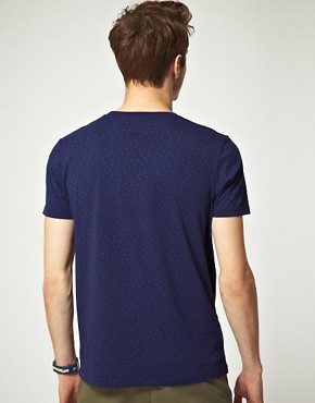 Image 2 ofASOS T-Shirt With Polka Dot Print
