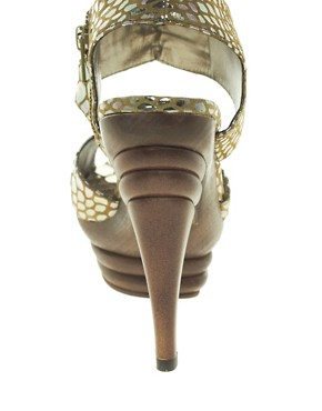 Image 2 ofShellys Tequila Leather Platform Sandal