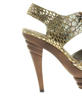Image 3 ofShellys Tequila Leather Platform Sandal