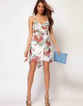 Image 4 ofLipsy Dipped Hem Sun Dress