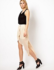 Factory by Erik Hart Wrap Maxi Skirt